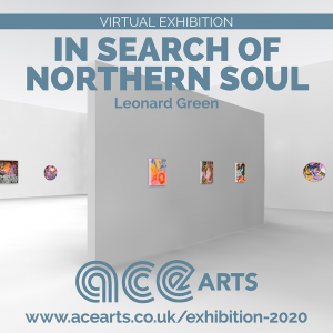 In Search Of Northern Soul Exhibition of abstract paintings by Leonard Green, image of virtual exhibition