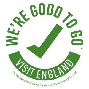 Visit England 'We're good to go' logo